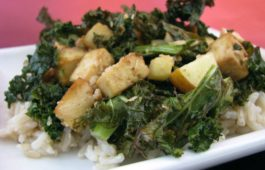 krispy kale tofu_hot for food