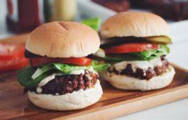 the best damn vegan burger_hot for food