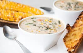 corn chowder_hot for food