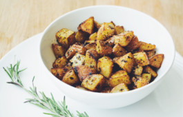 garlic rosemary home fries_hot for food