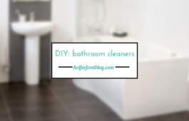 DIY bathroom cleaners_hot for food