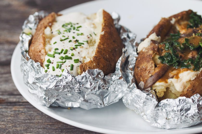 two way baked potato_hot for food