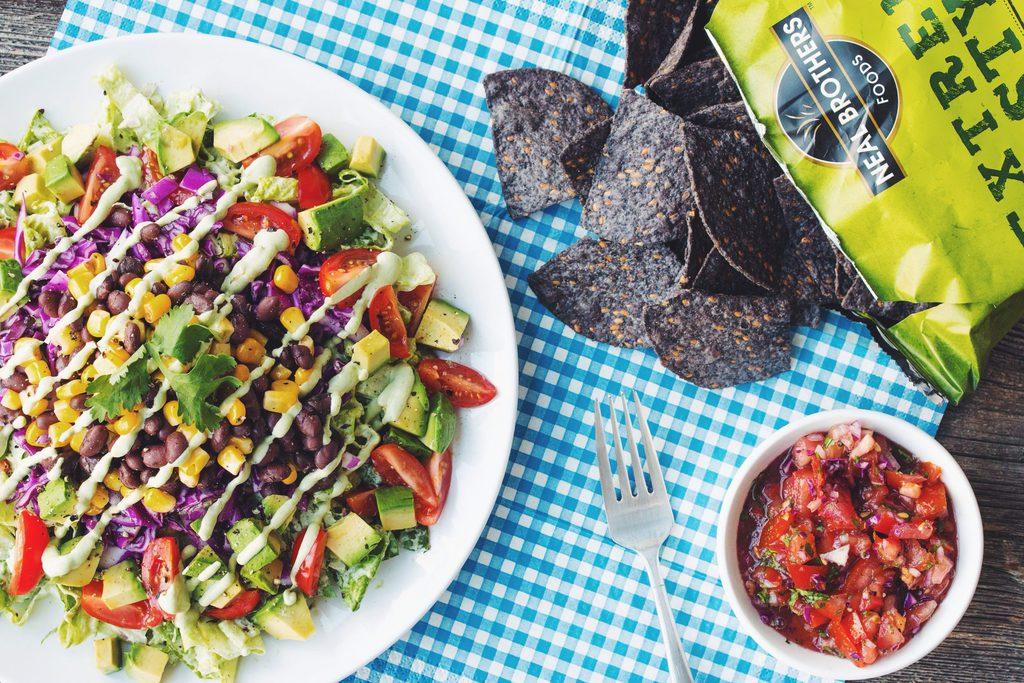 the big taco salad_hot for food