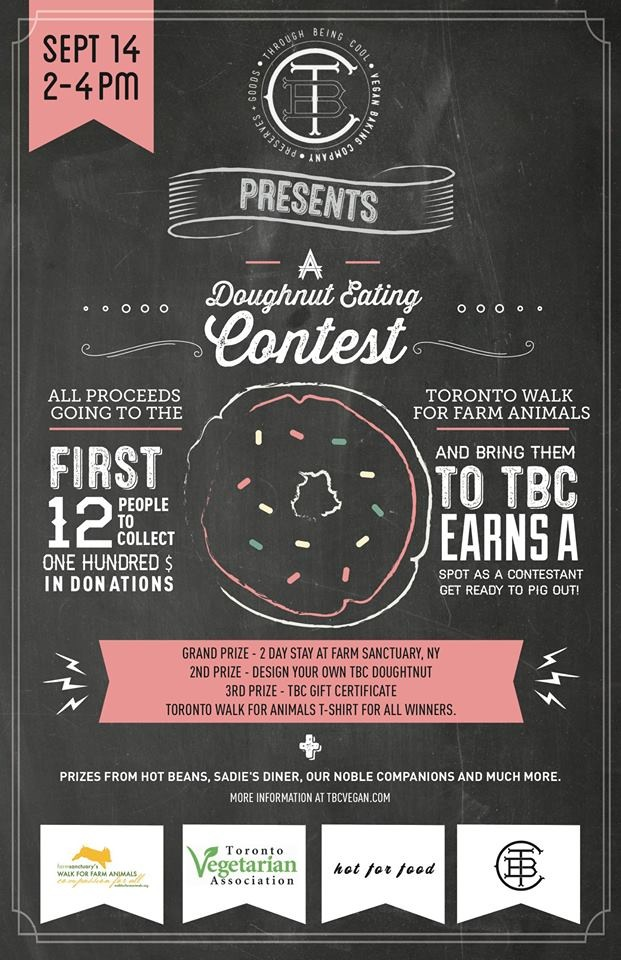 tbc doughnut eating contest