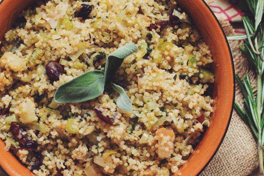 savory quinoa stuffing_hot for food
