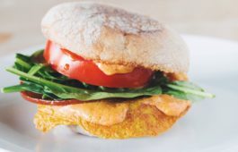 the vegan breakfast sandwich_hot for food