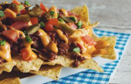 lentil chili cheese nachos_hot for food