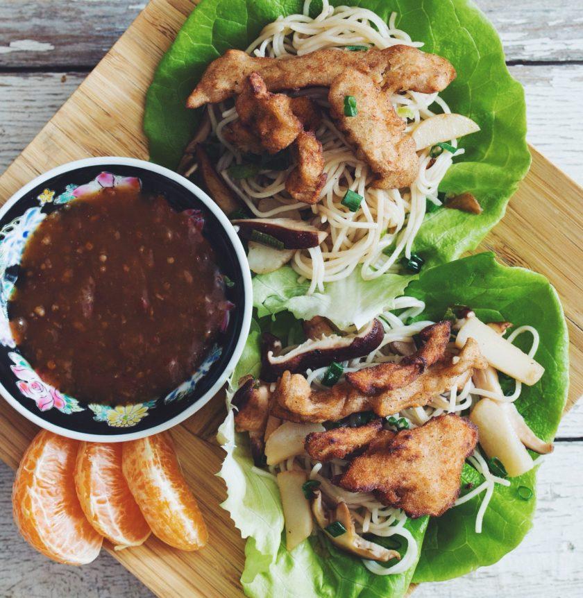chik'un lettuce wraps_hot for food