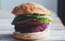 black bean beet burger_hot for food
