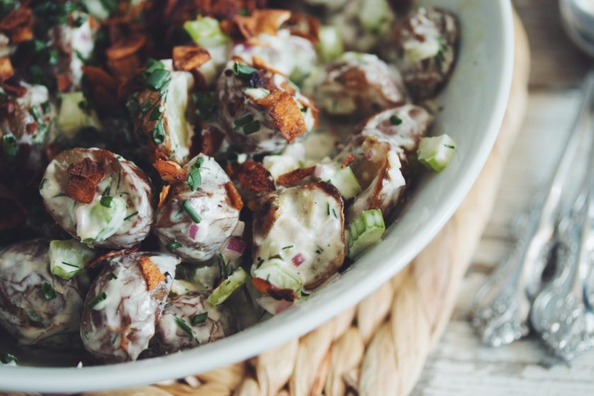 baked potato salad_hot for food