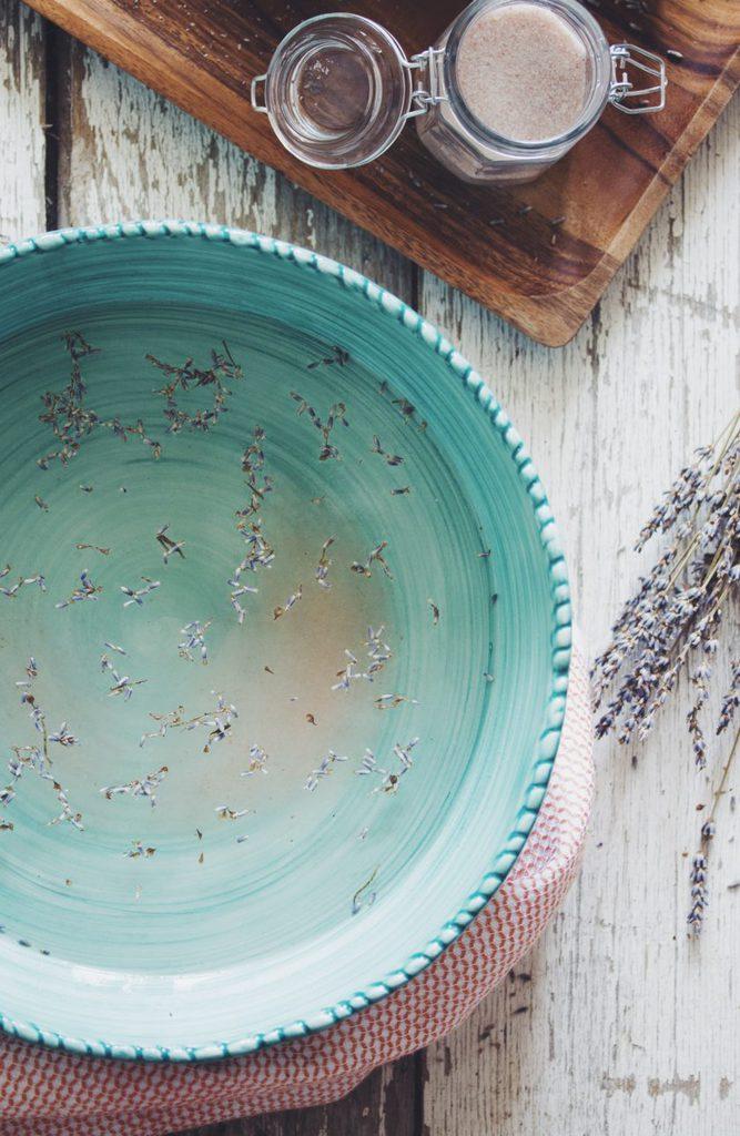 lavendar foot soak_hot for food