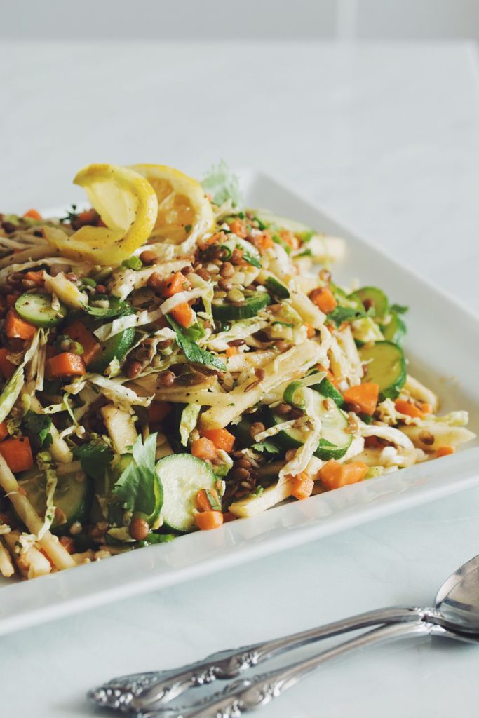 lentil apple slaw_hot for food