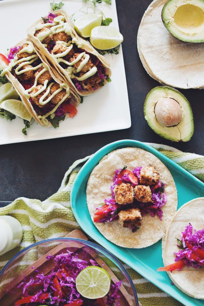 crispy coconut tofu tacos_hot for food
