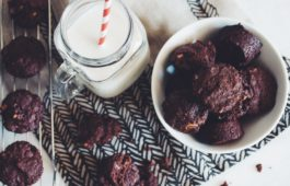 easy vegan brownie bites_hotforfood