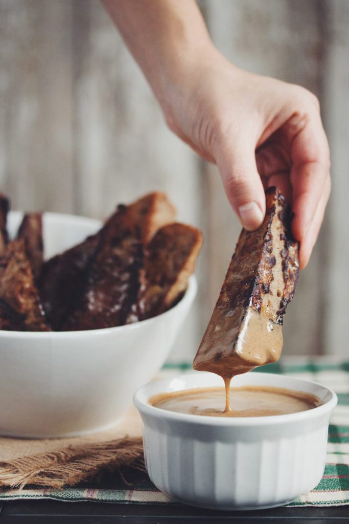 vegan gingerbread french toast sticks_hot for food
