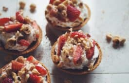 vegan chocolate hazelnut tarts_hot for food