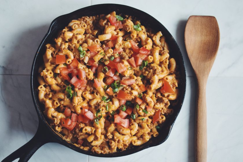 macaroni skillet_hot for food