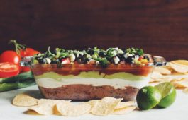 the best vegan 7 layer dip_hot for food