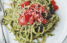 avocado pesto pasta_hot for food