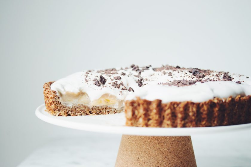 vegan banoffee pie_hot for food