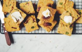 vegan cornbread 3 ways_hot for food