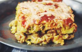 vegan breakfast lasagna_hot for food