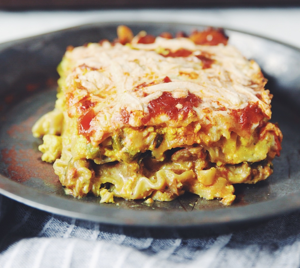 Vegan Breakfast Lasagna