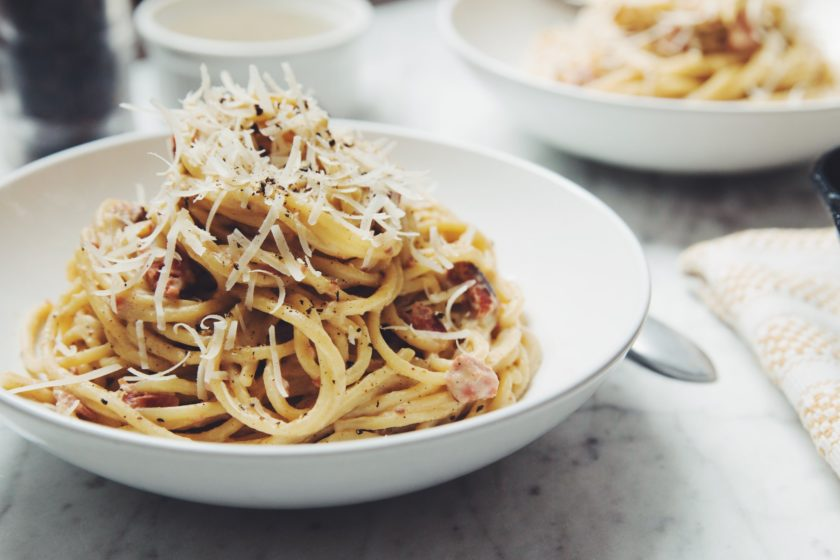 veagn carbonara_hot for food