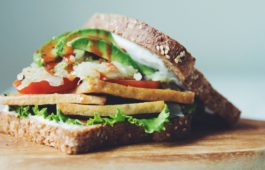 fried tofu sandwich_hot for food