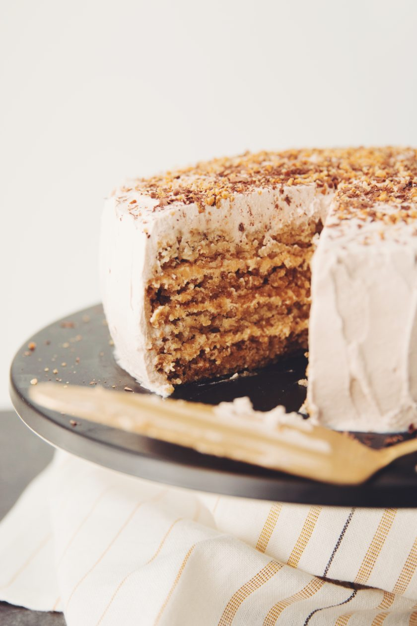 vegan hazelnut torte_hot for food