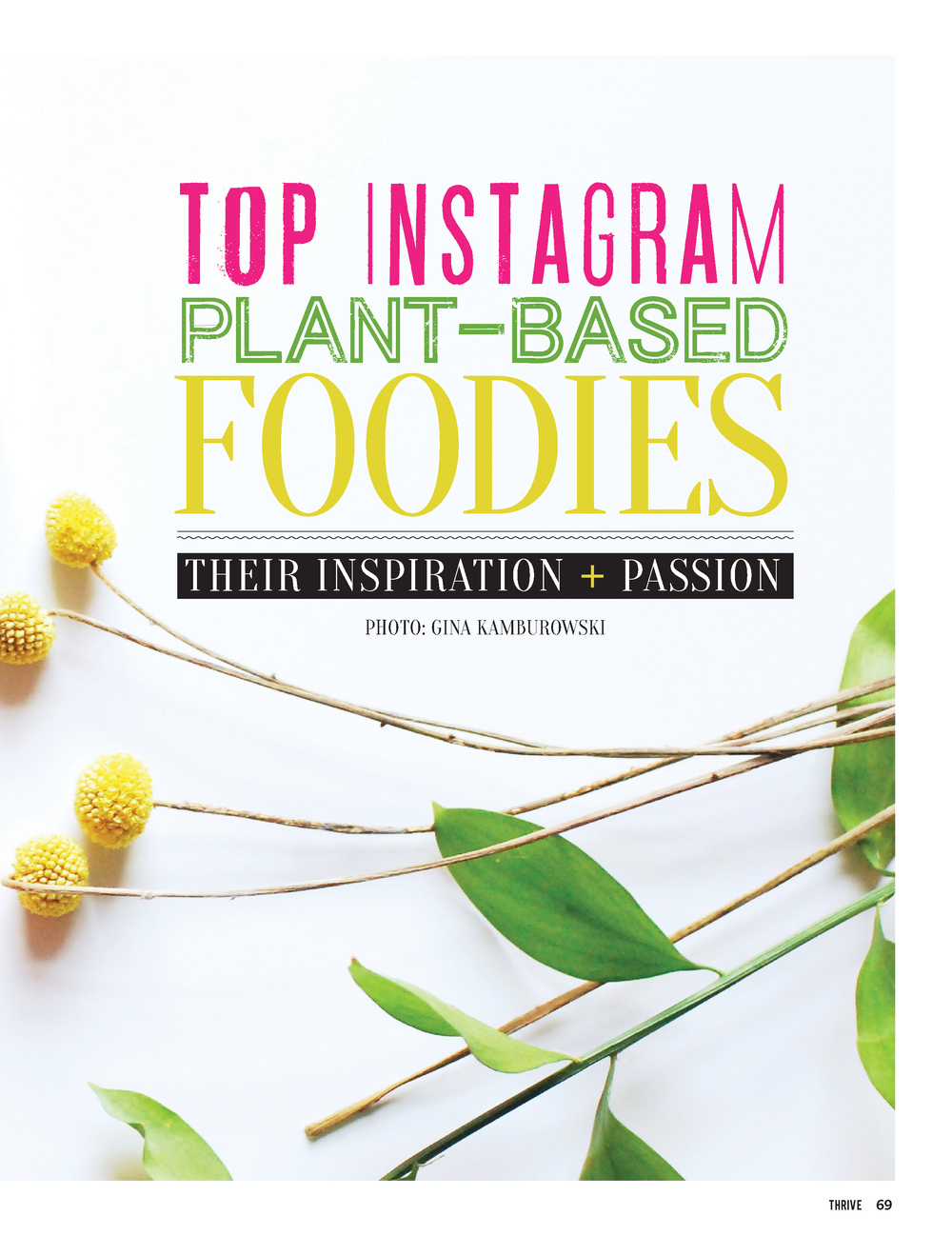 thrive magazine_top instagram foodies