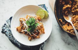 vegan thai red curry mac & cheese