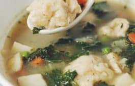 vegetable dumpling soup_hot for food