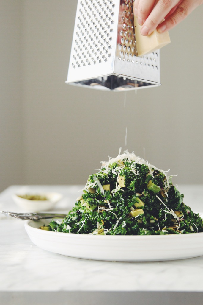 kale avocado salad_hot for food