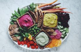3 easy vegan dips