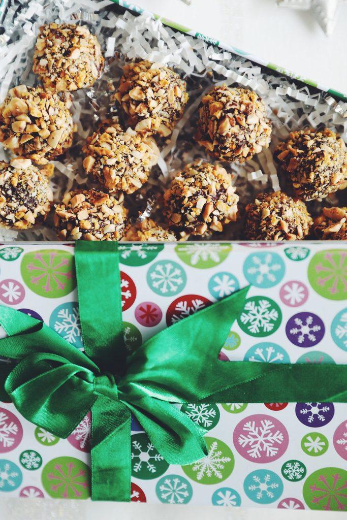 vegan hazelnut truffles