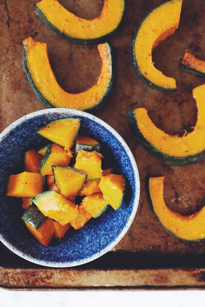 roasted kabocha_hotforfood