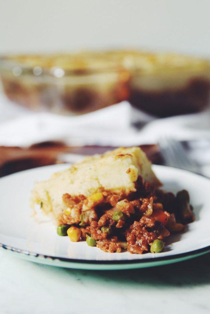 Vegan Shepherd's Pie_hot for food