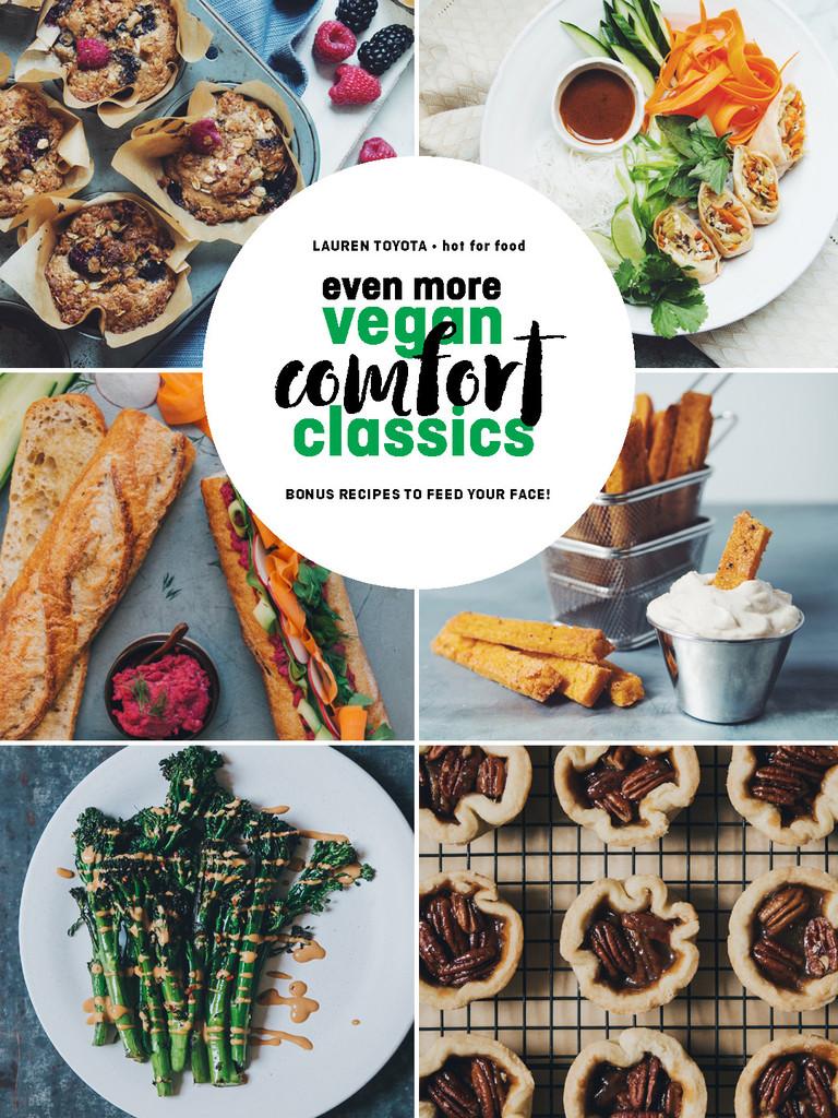 even more vegan comfort classics_cover_hot for food