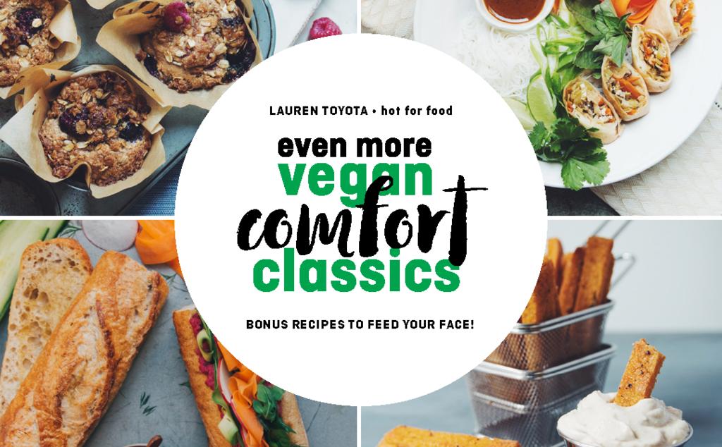 even more vegan comfort classics | hot for food by Lauren