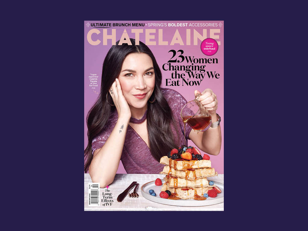 Chatelaine cover_lauren toyota