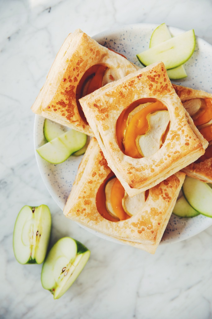 vegan apple cheese danishes_hot for food