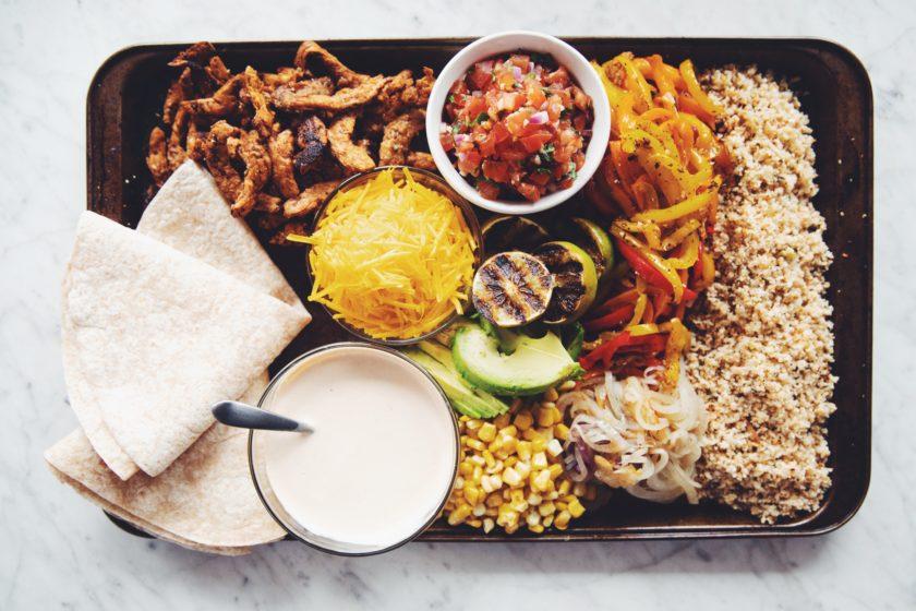 sheet pan vegan beef burritos_hot for food