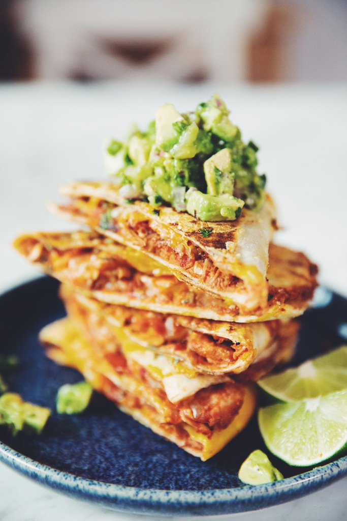 jackfruit tinga quesadilla_hot for food
