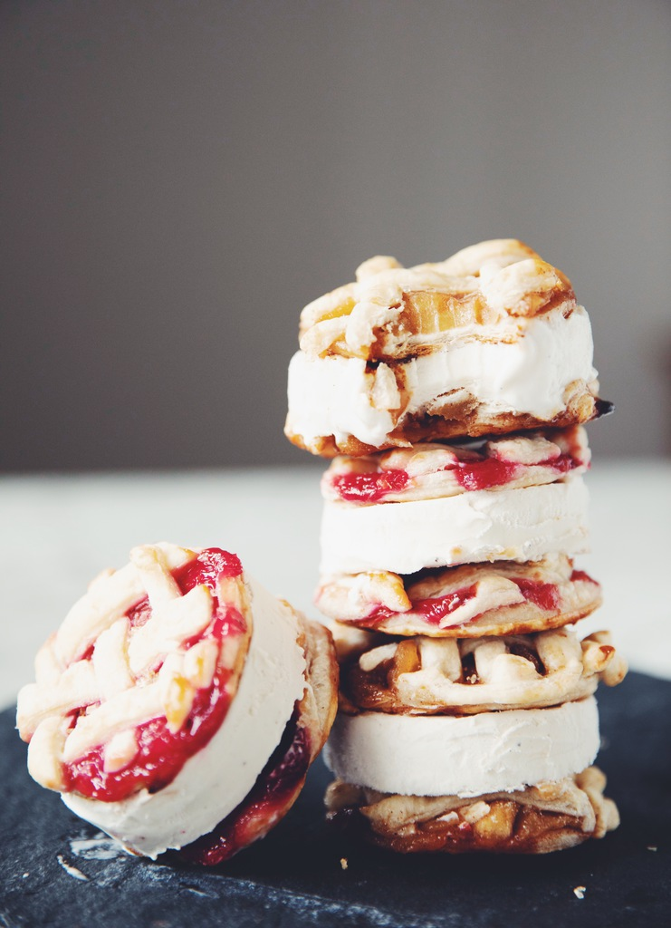 vegan pie cookie ice cream sandwiches_hot for food
