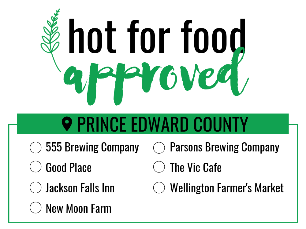 prince edward county_hot for food