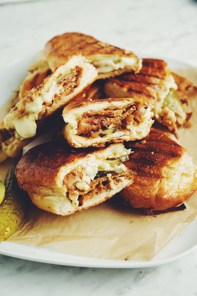 vegan cubano sandwich_hot for food