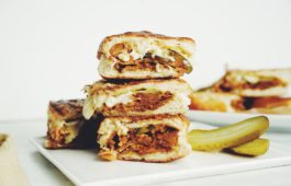 vegan cubano sandwich_hot for food