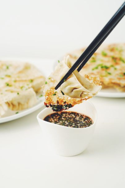 chinese potstickers_hot for food