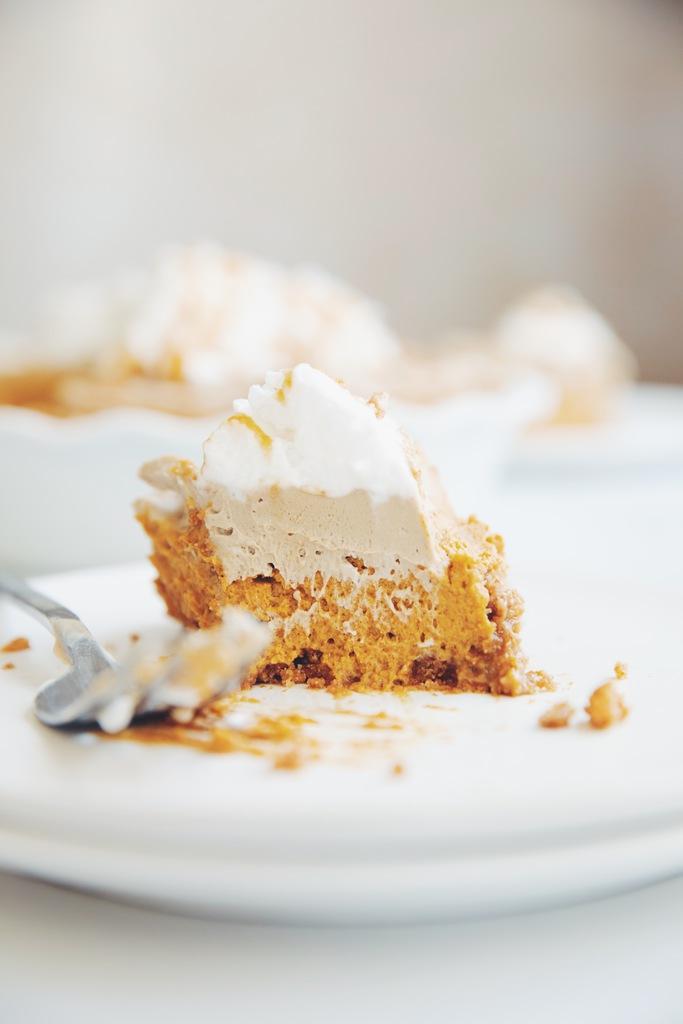 pumpkin spice latte pie_hot for food